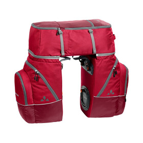 VAUDE Karakorum Bike Pannier 3-Piece red